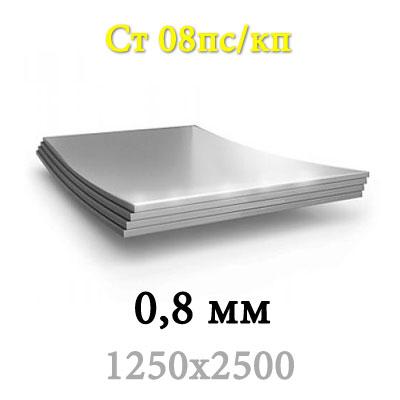 Лист х/к 0,8 мм